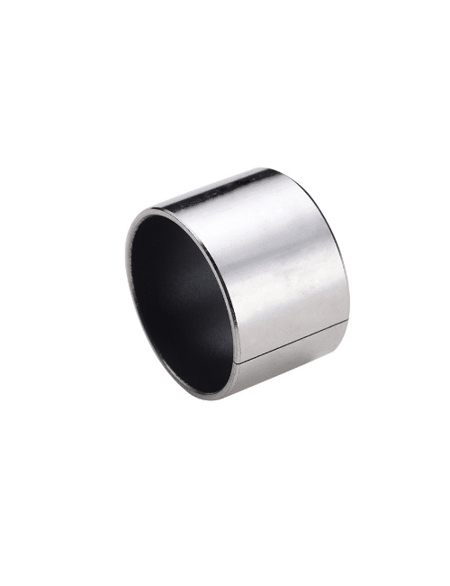Wrapped bushing, steel or tin-plated