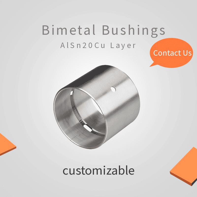 AISn20Cu bimetal bearings