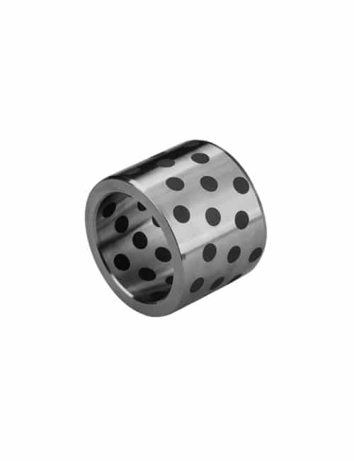 OILLESS STEEL BUSHING GRAPHITE