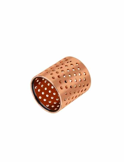 cusn8-bronze-plain-bearing-bushings lubricating holes