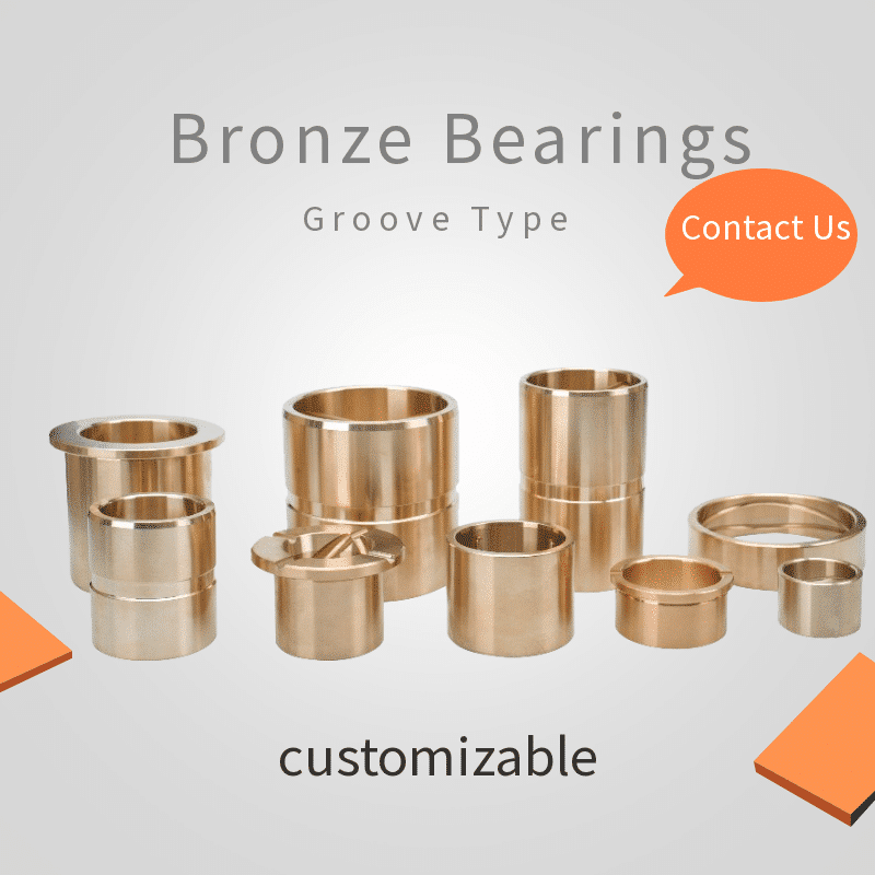 bronze bearings groove type