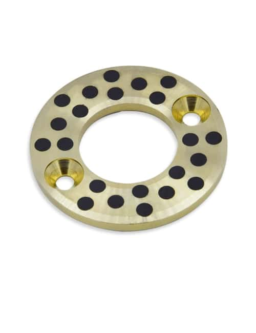 Self lubricating bronze washers