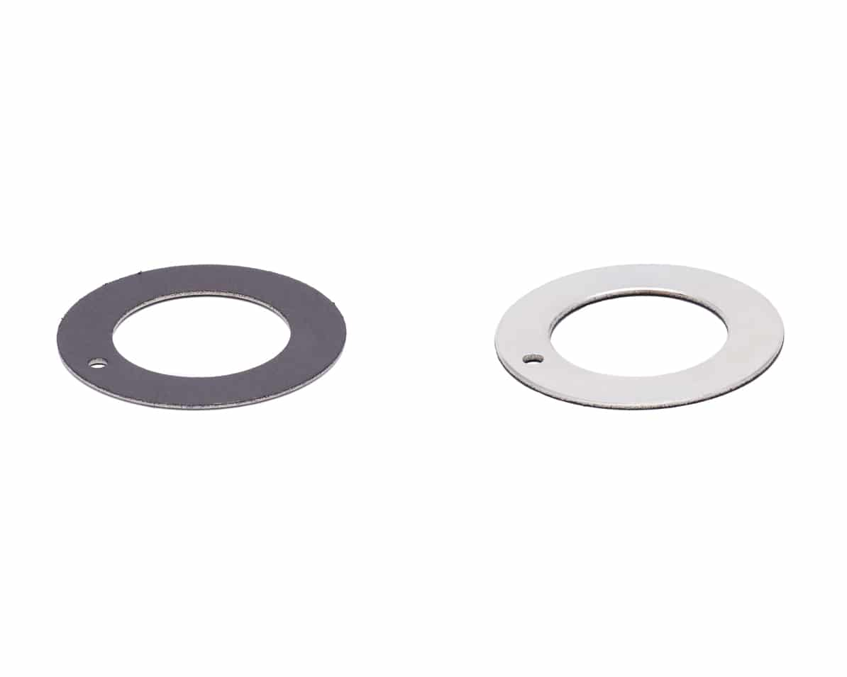 thrust washer bearing ptfe steel backed
