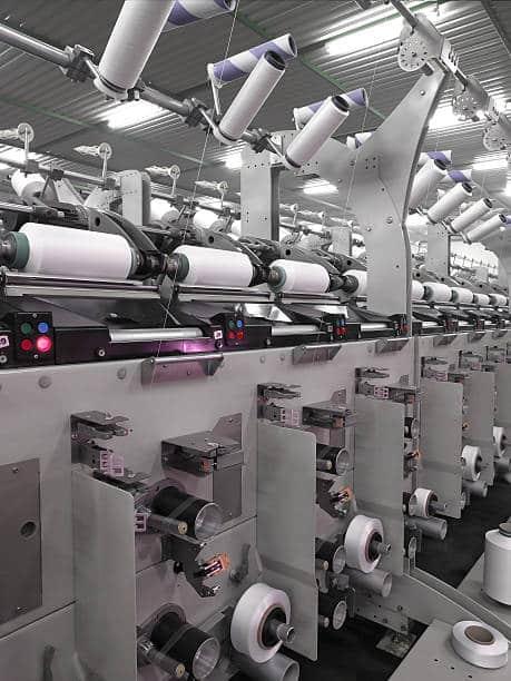 Textile machines.