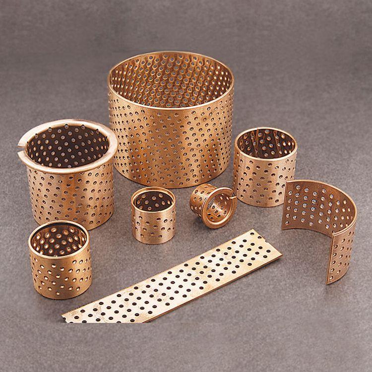 bronze bushing lubricating holes