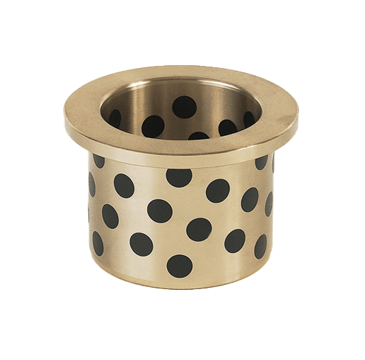 flange graphite bronze bushing