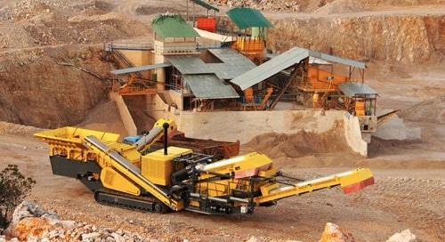 Mining machinery bushing