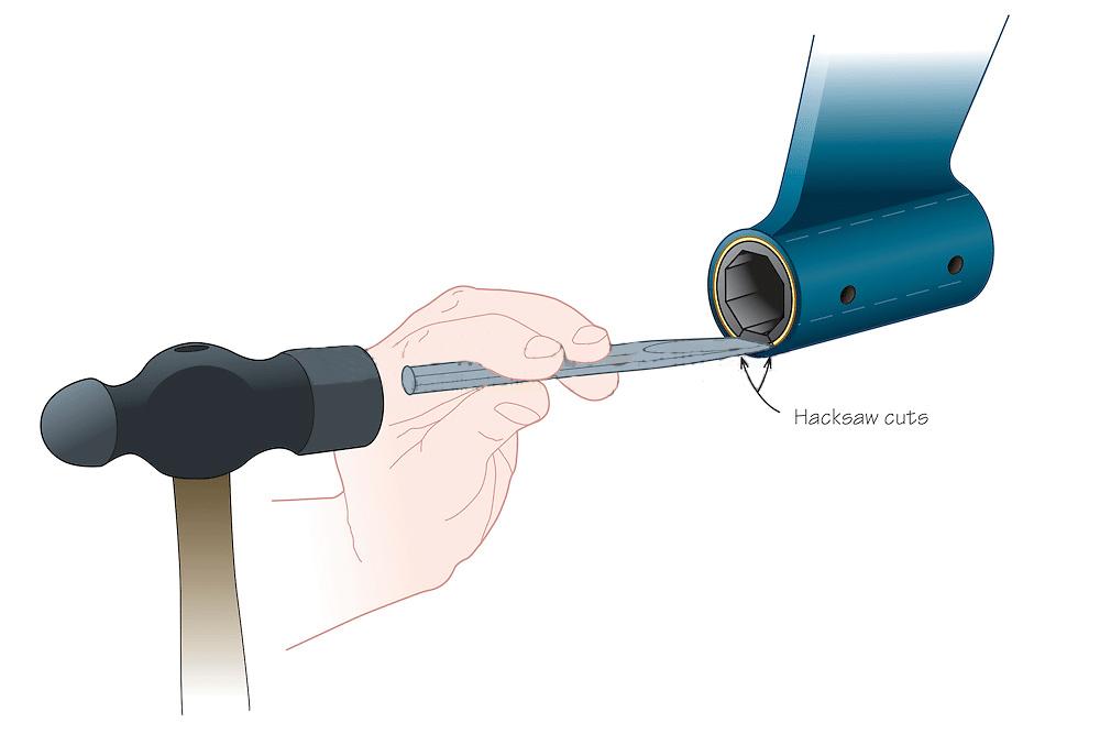 Bearing removal