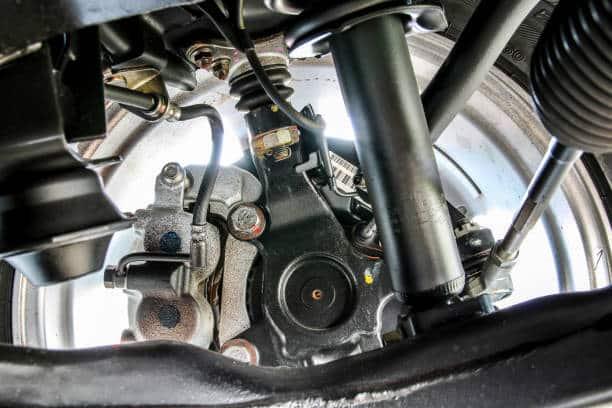 Automobile brake bearing